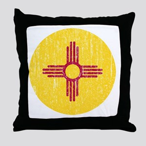 NM_round_merch Throw Pillow