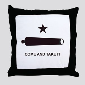 """GONZALES FLAG"" Throw Pillow"