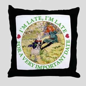 ALICE - FOLLOW ME Throw Pillow