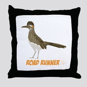 ROAD RUNNER Throw Pillow