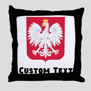 Poland Coat Of Arms Throw Pillow