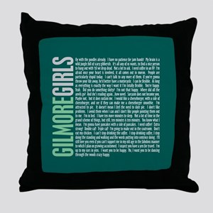 Gilmore Girls Quotes Throw Pillow