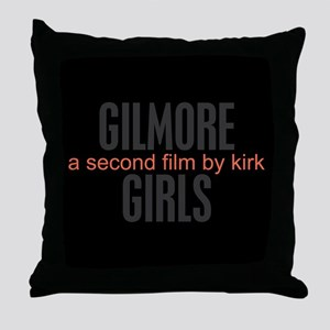A second film by Kirk Throw Pillow