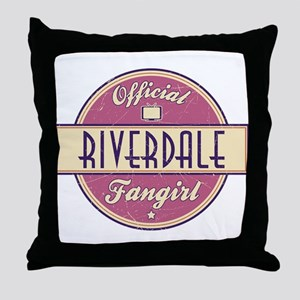 Official Riverdale Fangirl Throw Pillow