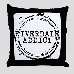 Riverdale Addict Stamp Throw Pillow