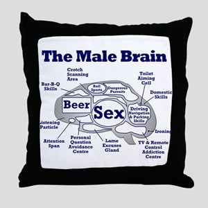 The Thinking Man's Throw Pillow