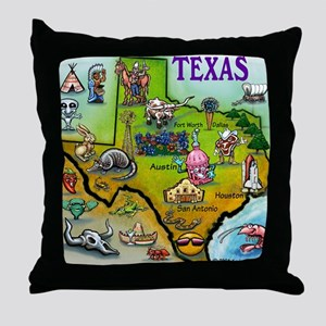 Texas Throw Pillow