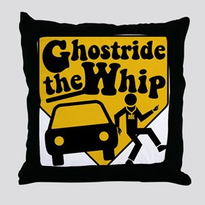 GhostRide The Whip Throw Pillow