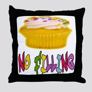 CUPCAKE NO FILLING-T-SHIRTS Throw Pillow