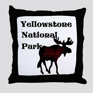 Personalized Moose Throw Pillow