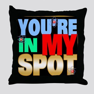Sheldon Cooper Throw Pillow