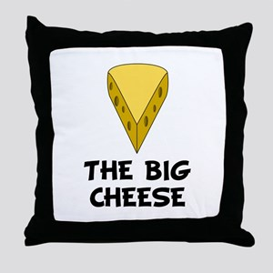 Big Cheese Throw Pillow