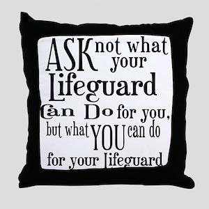 Lifeguard Quotes Pillows Cafepress