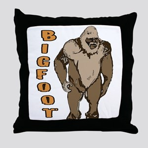 Bigfoot 1 Throw Pillow