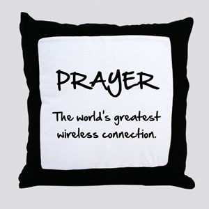 Prayer Wireless Throw Pillow