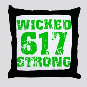 Wicked 617 Strong Throw Pillow