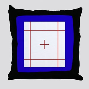 Trampoline Bed Throw Pillow