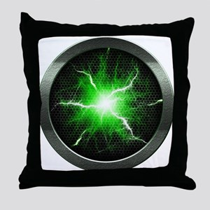 Borg Regeneration Disc Throw Pillow