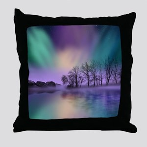 Northern Lights, Dawn Of The North, Throw Pillow