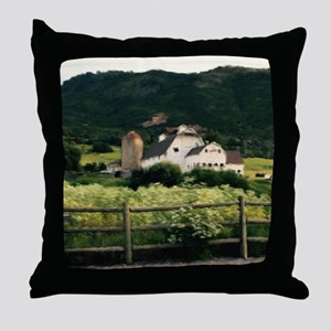 Park City Scene by LH Throw Pillow