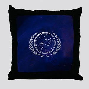 Star Trek United Federation of Planet Throw Pillow