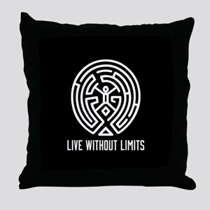 Westworld Live Without Limits Throw Pillow