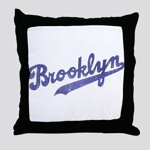 Throwback Brooklyn Throw Pillow