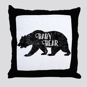Baby Bear - Family Collection Throw Pillow
