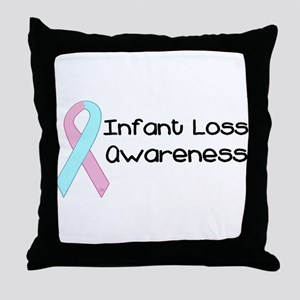 Infant Loss Awareness Throw Pillow
