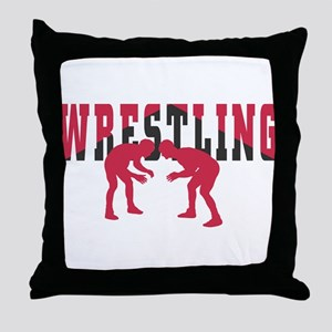 Wrestling 2 Throw Pillow