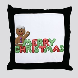 CHRISTMAS COOKIES Throw Pillow