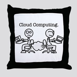 Cloud Computing Throw Pillow
