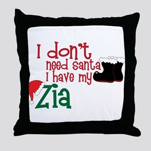 I Have My Zia Throw Pillow