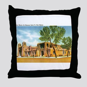 Santa Fe New Mexico NM Throw Pillow