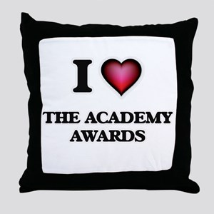 I love The Academy Awards Throw Pillow