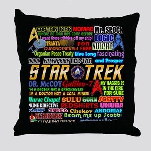 Star Trek TOS Throw Pillow