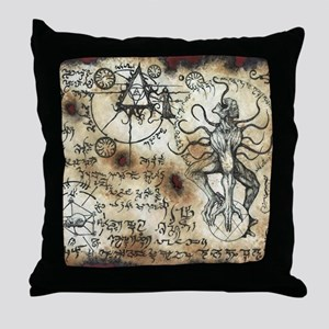 Nyarlathotep Scroll Throw Pillow