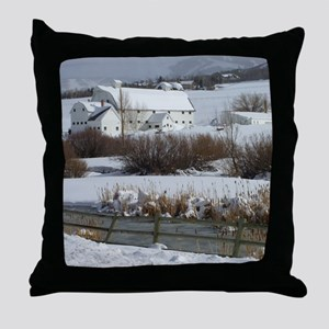 McPolinFarm2 Throw Pillow
