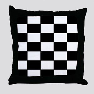 Checkered Pattern Throw Pillow