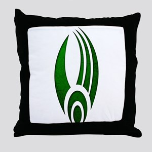 Distressed Borg Insignia Throw Pillow