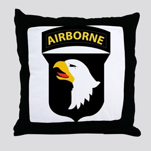 101st Airborne Division Throw Pillow