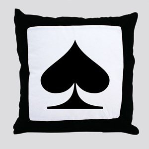 Spades! Throw Pillow