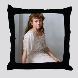 9X12-Sml-framed-print-anastasia Throw Pillow