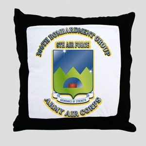 306TH BOMB GROUP Throw Pillow
