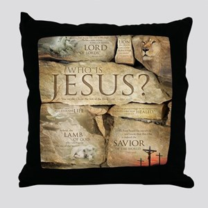 Names of Jesus Christ Throw Pillow