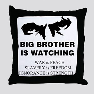 BigBrother4 Throw Pillow