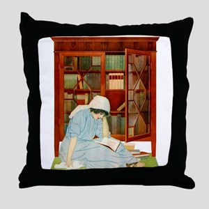 LOST HORIZONS by Coles Phillips Throw Pillow