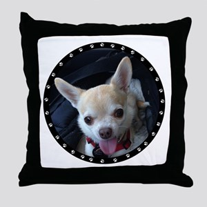 2ddd1aa47523 Personalized Paw Print Throw Pillow