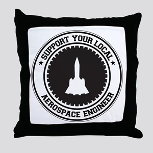 Support Aerospace Engineer Throw Pillow