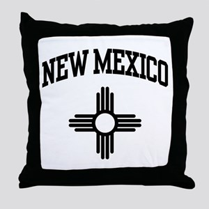 New Mexico Throw Pillow